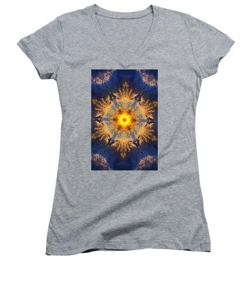 006 Women's V-Neck T-Shirt (Junior Cut) by Phil Koch