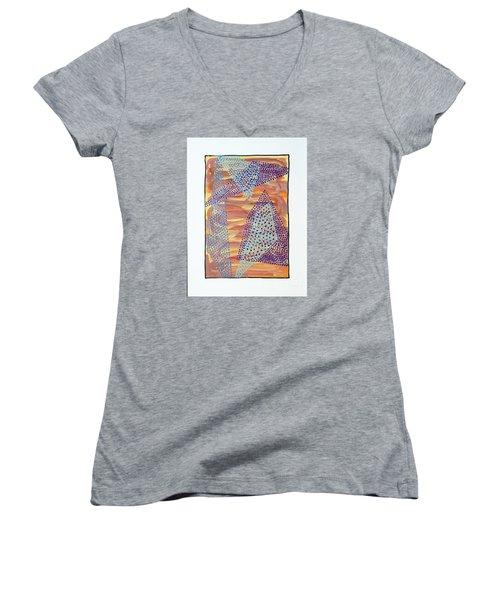 01326 Women's V-Neck T-Shirt