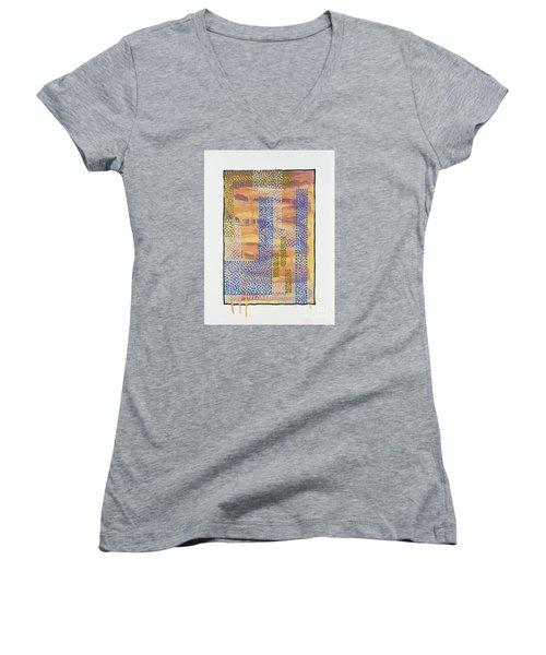 01327 Women's V-Neck T-Shirt