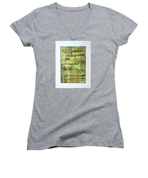 01328 Slide Women's V-Neck T-Shirt