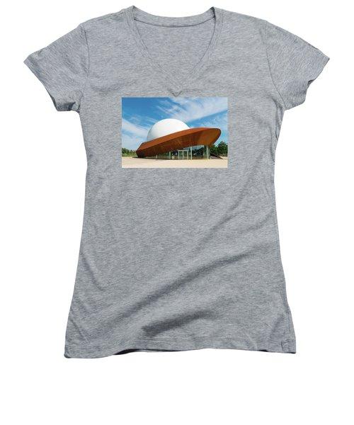 3d Theater Women's V-Neck T-Shirt