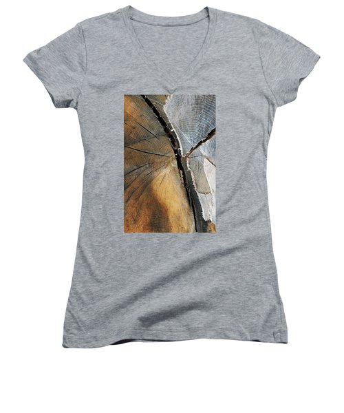 A Dead Tree Women's V-Neck T-Shirt