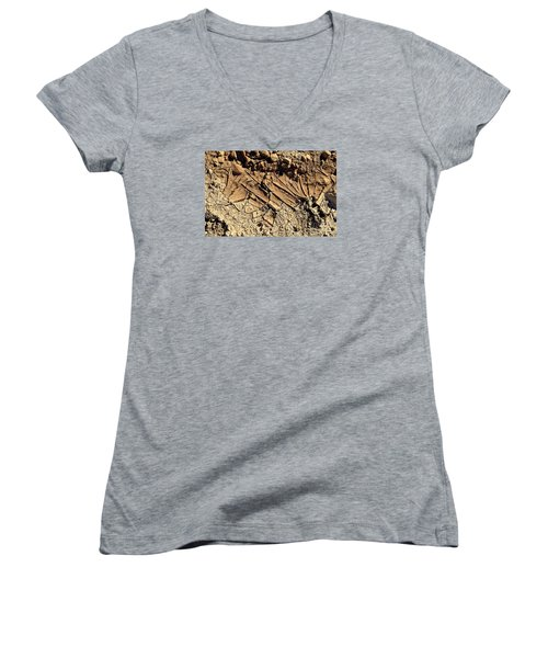 Abstract 3 Women's V-Neck (Athletic Fit)