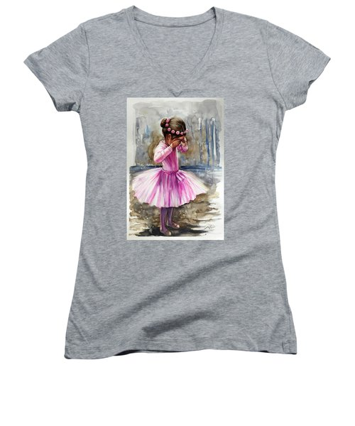 After The Rehearsal Women's V-Neck T-Shirt