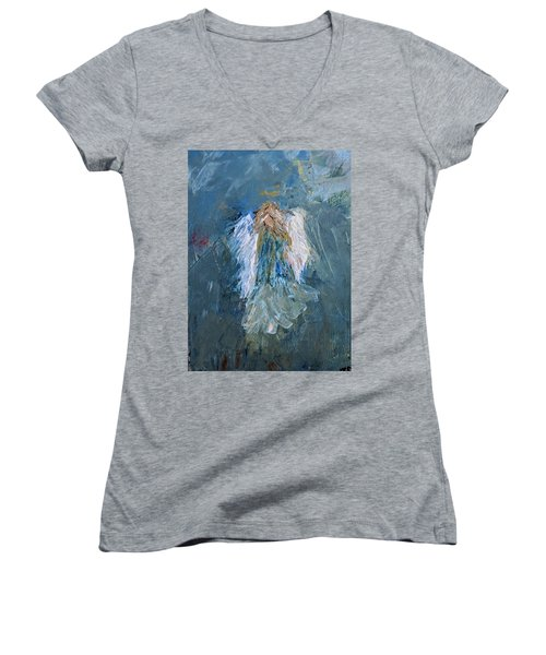 Angel Girl Women's V-Neck