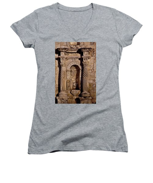 Architectural Detail Women's V-Neck T-Shirt