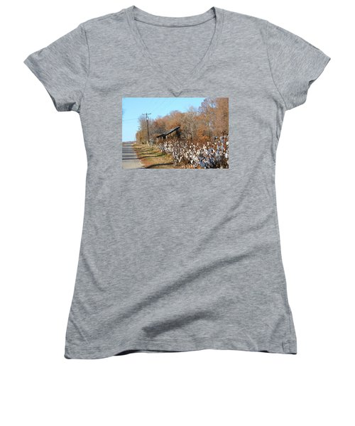 Back Roads Of Ms Women's V-Neck T-Shirt