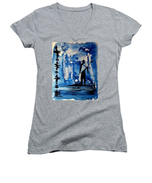 Badsurfer  Women's V-Neck