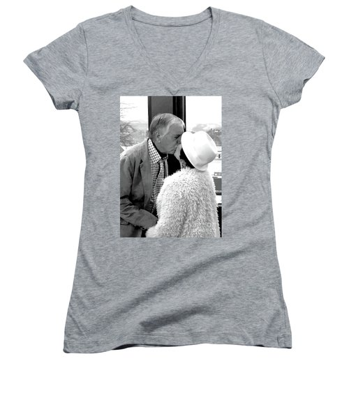 Becky's Kiss Women's V-Neck T-Shirt