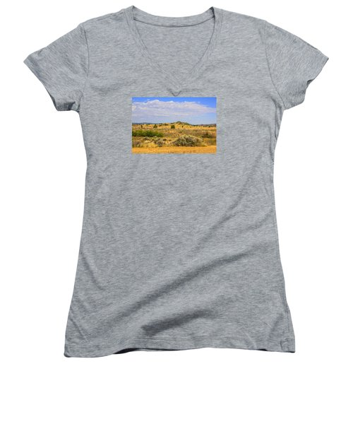 Big Sky Country Women's V-Neck (Athletic Fit)