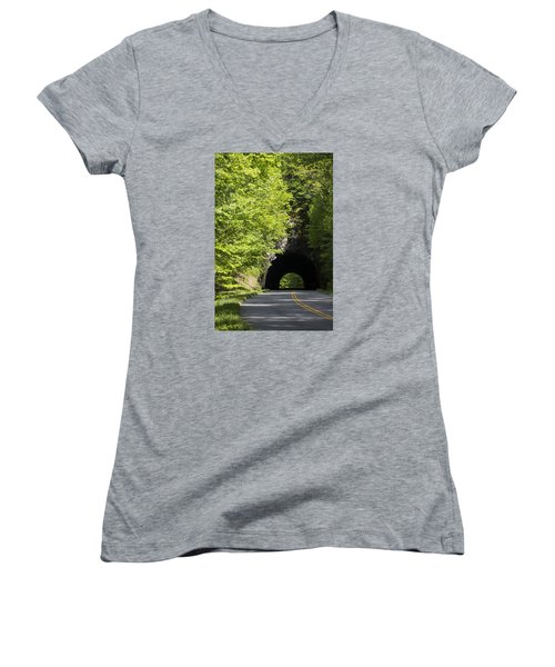 Blue Ridge Parkway Women's V-Neck