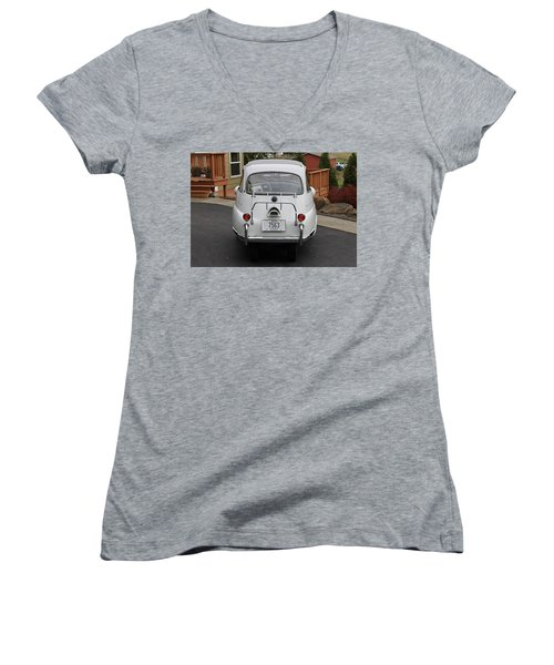 Bmw Isetta 300 Women's V-Neck