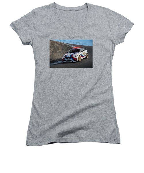 Bmw M2 Coupe Women's V-Neck
