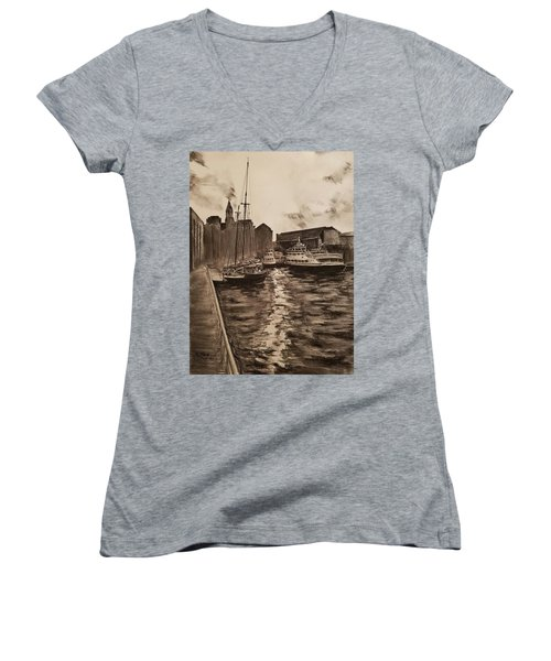 Boston Harbor Women's V-Neck (Athletic Fit)