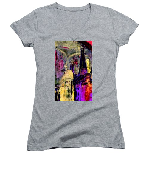 Bottles Women's V-Neck T-Shirt
