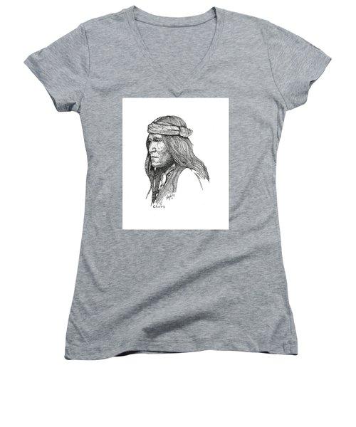 Chato Women's V-Neck T-Shirt