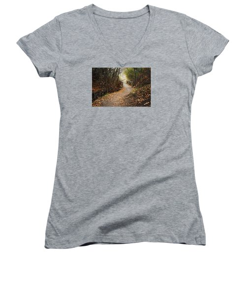 City Creek Bridge Women's V-Neck