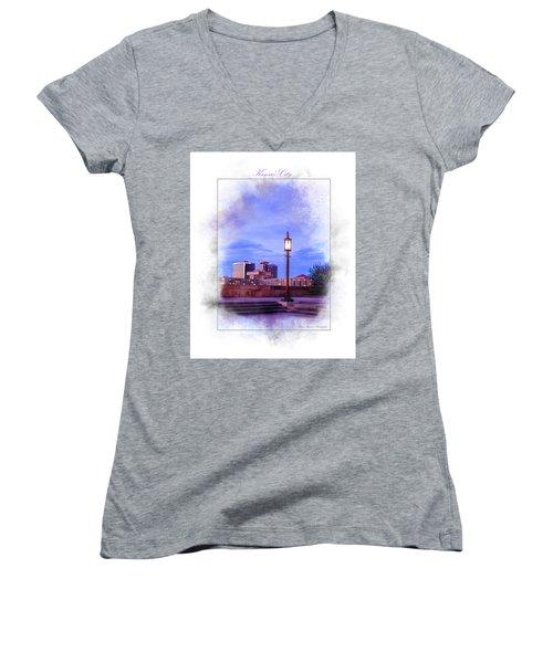 City Women's V-Neck T-Shirt