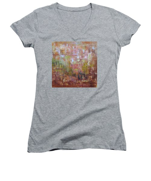 Communicate Women's V-Neck T-Shirt