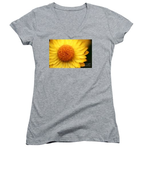 Women's V-Neck T-Shirt (Junior Cut) featuring the photograph Crazy Spin by Stephen Mitchell