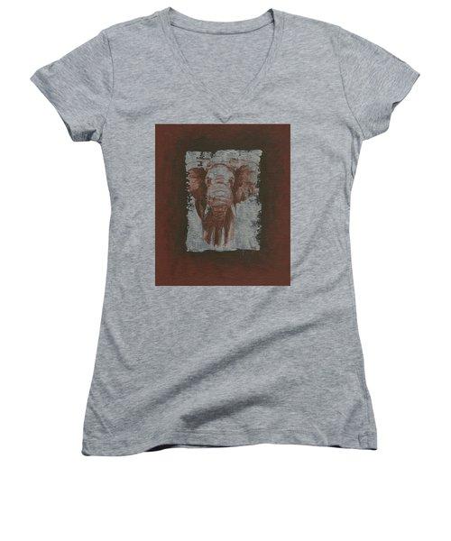 Elephant Women's V-Neck