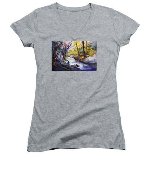Enchanted Wilderness Women's V-Neck