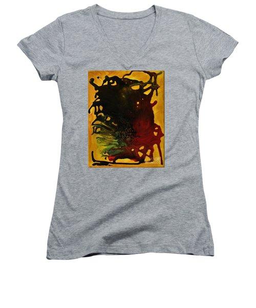 Experiment II Women's V-Neck T-Shirt