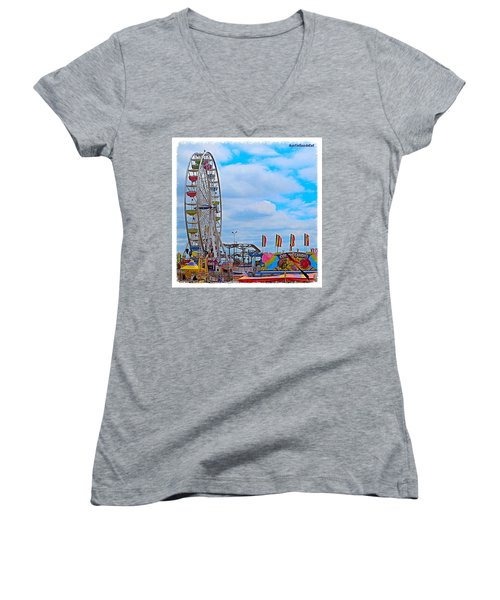 #exploring The #austin, #texas #rodeo Women's V-Neck