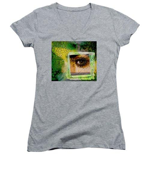 Eye, Me, Mine Women's V-Neck T-Shirt
