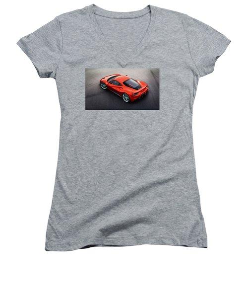 Ferrari 488 Women's V-Neck