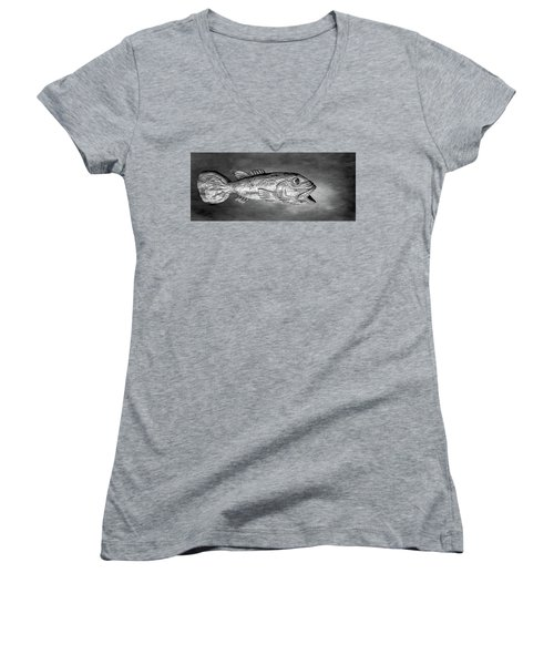 Fish Women's V-Neck
