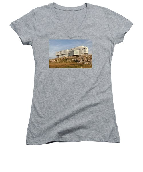 Fogo Island Inn Women's V-Neck T-Shirt