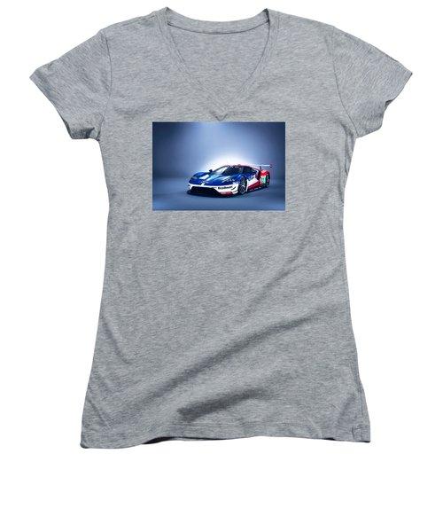 Ford Gt Women's V-Neck