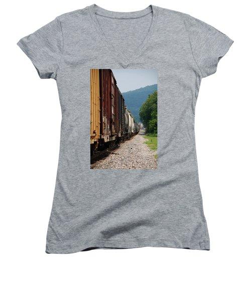 Freight Train Women's V-Neck