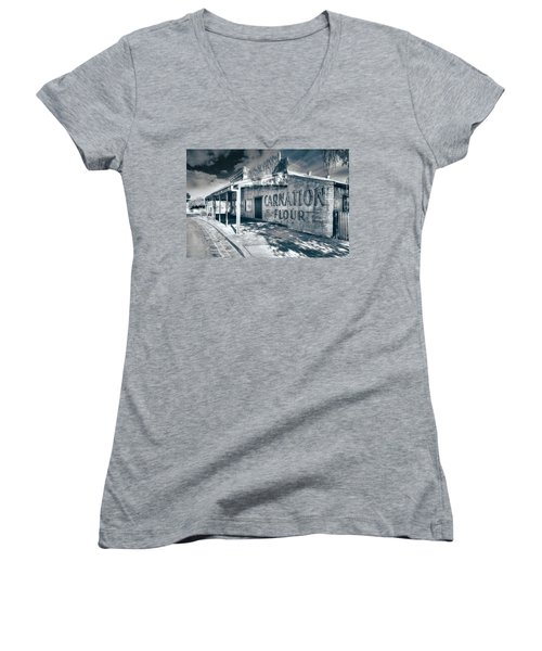 General Store Women's V-Neck T-Shirt (Junior Cut) by Wayne Sherriff