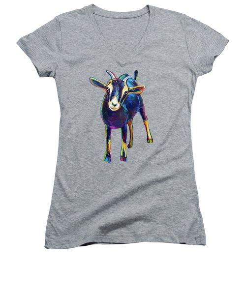 Gertie, The Goat Women's V-Neck T-Shirt