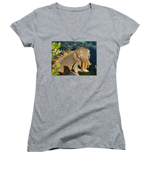 Giant Iguana Women's V-Neck