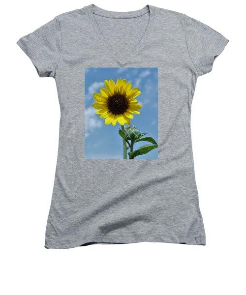 Good Morning Sunshine Women's V-Neck T-Shirt