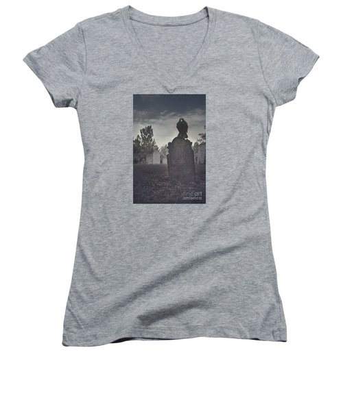 Graveyard Women's V-Neck