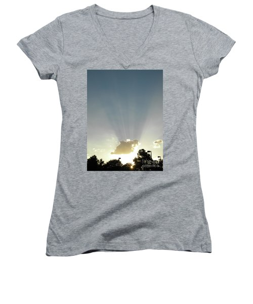 Heavenly Rays Women's V-Neck
