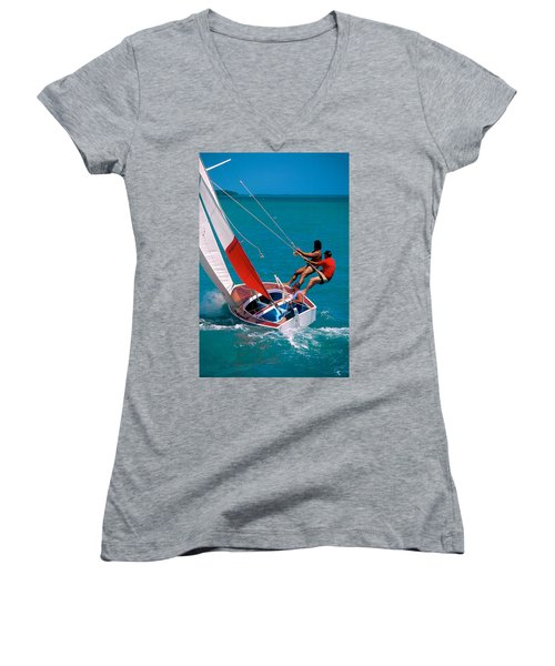 Hiked Out Women's V-Neck