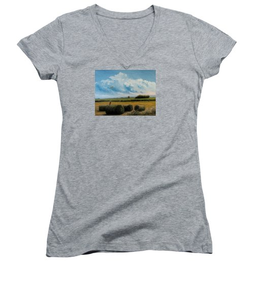 Hunting Women's V-Neck T-Shirt