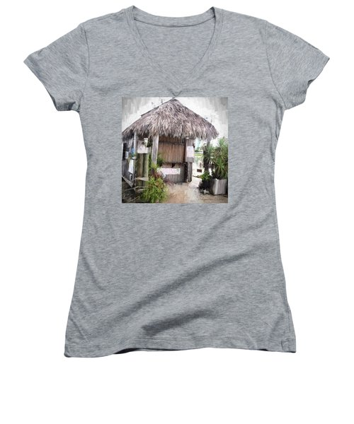 Hut Women's V-Neck