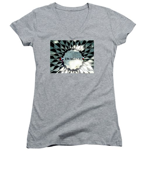 Imagine Women's V-Neck T-Shirt