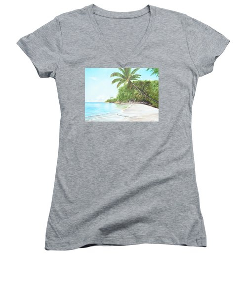 In Paradise Women's V-Neck T-Shirt