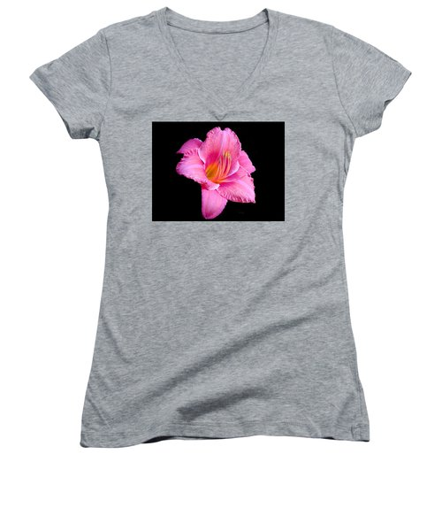 In The Pink Women's V-Neck