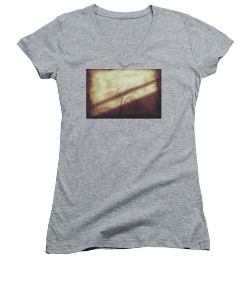 In The Quiet Women's V-Neck T-Shirt