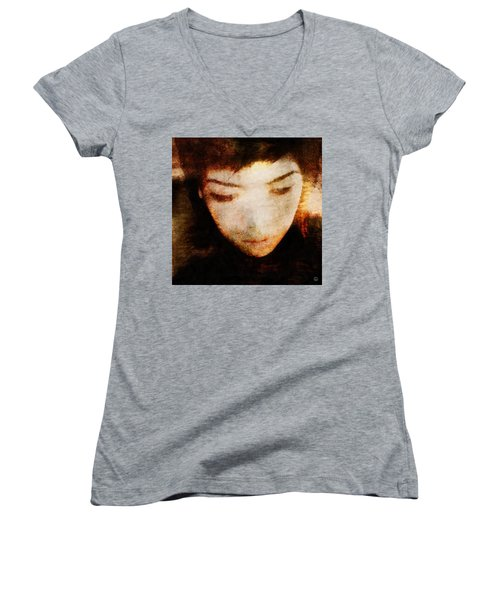 In Thoughts Women's V-Neck T-Shirt