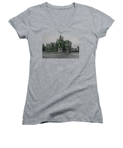 James Scott Mansion  Women's V-Neck T-Shirt