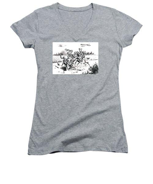 Joust Women's V-Neck T-Shirt